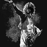 Jimmy Page Art Print by William Walts
