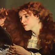 Jo The Beautiful Irish Girl Art Print