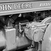 John Deere Diesel Art Print by Susan Candelario