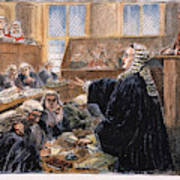 John Peter Zenger Trial Art Print