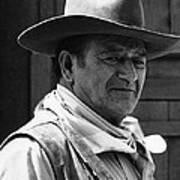 John Wayne Rio Lobo Old Tucson Arizona 1970 Art Print