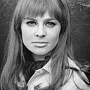 Julie Christie, Ca. Mid-1960s Art Print