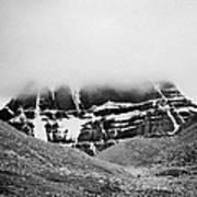 Kailash Mountain North Slope Art Print
