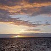 Kailua Sunset Art Print