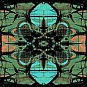 Kaleidoscope Flower 4 Art Print