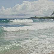 Kapalua Surf Honokahua Maui Hawaii Art Print