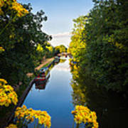 Kennet And Avon Canal Art Print
