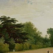 Kensington Gardens Art Print