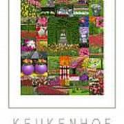 Keukenhof Gardens Poster Art Print