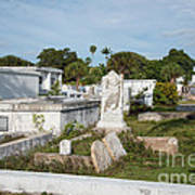 Key West Cemetery Art Print