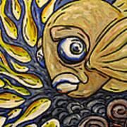 Responsible Fish Art Print