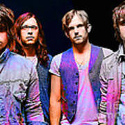 Kings Of Leon Art Print