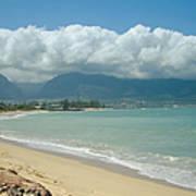 Kite Beach Kanaha Maui Hawaii Art Print