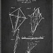 Kite Patent From 1892 Art Print