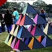 Kite Show Art Print