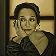 Kristin Scott Thomas Art Print
