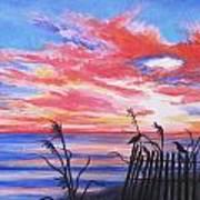 Ks Sunrise Art Print