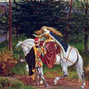 La Belle Dame Sans Merci Art Print by Walter Crane