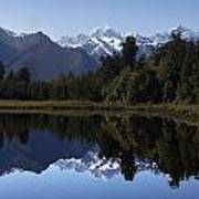 Lake Matheson New Zealand Art Print