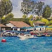 Lake Mission Viejo Art Print