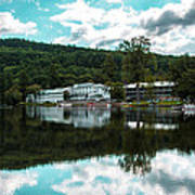 Lake Morey Inn And Resort Art Print