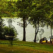 Lakeside Dreams Art Print