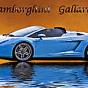 Lamborghini Gallardo Art Print