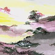 Landscape 1 Print by Anil Nene