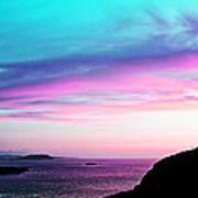 Landscape - Sunset Art Print
