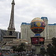 Las Vegas - Paris Casino - 12123 Art Print