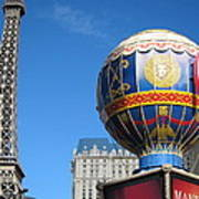 Las Vegas - Paris Casino - 12127 Art Print