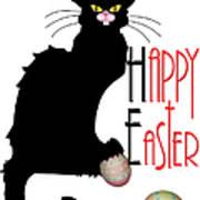 Le Chat Noir - Easter Art Print