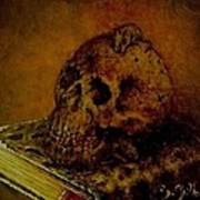 Le Livre Des Morts Art Print by Guillaume Bruno
