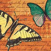 Le Papillon 3 Art Print
