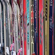 Lets Ski Art Print