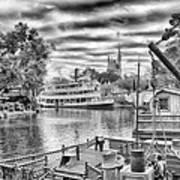 Liberty Square Riverboat Art Print