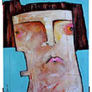 Life As Human Number Thirty Three Art Print by Mark M  Mellon
