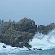 Lighthouse On An Island, Creach Art Print