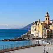 Liguria . Camogli Art Print