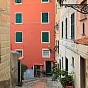 Liguria - Sori Art Print