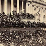 Lincoln's Inauguration, 1865 Art Print