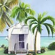 Little House On A Little Island Art Print
