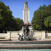Littlefield Fountain - University Of Texas Art Print