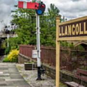 Llangollen Railway Station Art Print