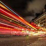 London Lights Art Print