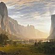 Looking Down Yosemite Valley Art Print