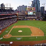 Los Angeles Dodgers V. San Diego Padres Art Print