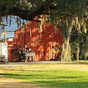 Louisiana Barn Art Print