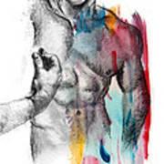 Love Colors 5 Art Print