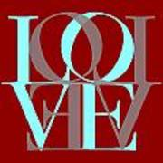 Love Typography Art Print
